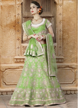 Silk Trendy Lehenga For Party