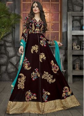 Silk Georgette Designer Salwar Suit