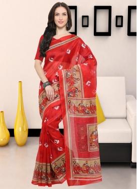 Bhagalpuri Silk Classic Saree