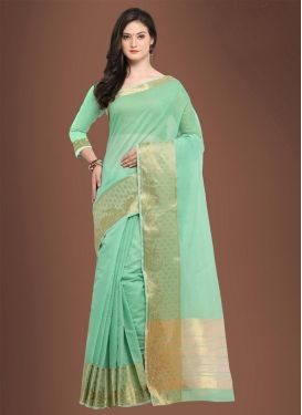 Chanderi Cotton Traditional Saree