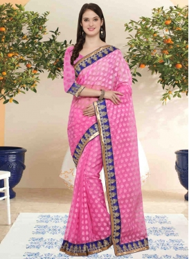 Brasso Georgette Classic Saree For Casual