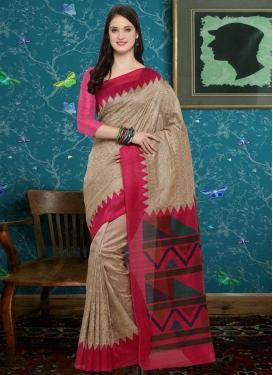 Bhagalpuri Silk Trendy Saree