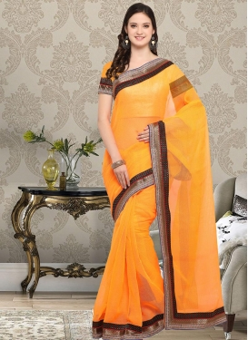 Enthralling Contemporary Saree For Casual