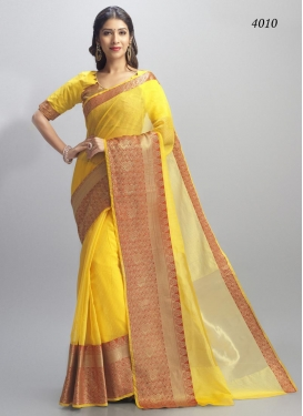 Cotton Silk Trendy Classic Saree