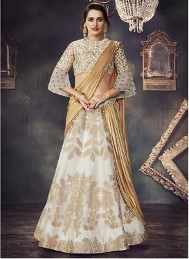 Silk Trendy Lehenga Choli For Festival