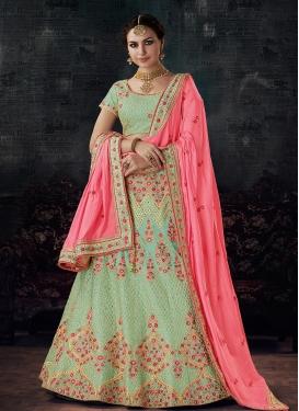Silk Trendy Lehenga