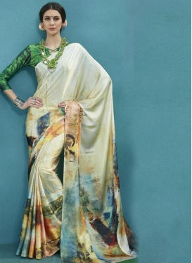 Satin Classic Saree For Ceremonial