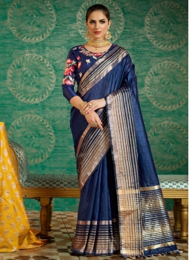 Embroidered Work Classic Saree For Ceremonial