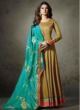 Lace Work Long Length Anarkali Suit