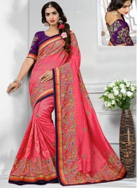 Banarasi Silk Trendy Saree For Ceremonial