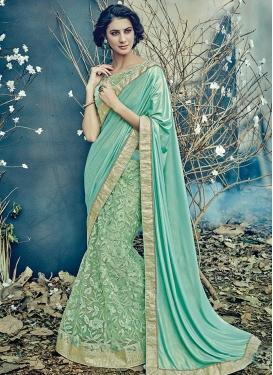 Embroidered Work Designer Lehenga Saree