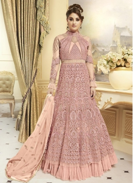 Net Kameez Style Lehenga Choli