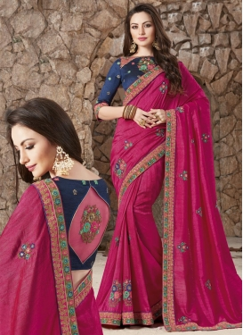 Silk Trendy Classic Saree