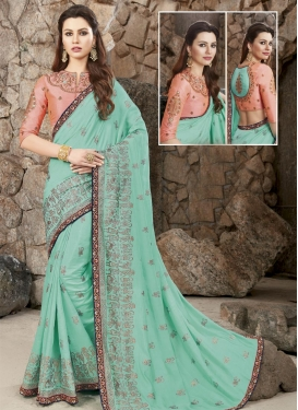 Silk Designer Contemporary Saree For Ceremonial