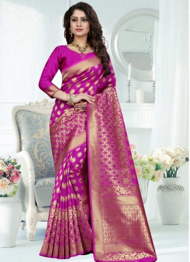 Banarasi Silk Traditional Saree For Festival