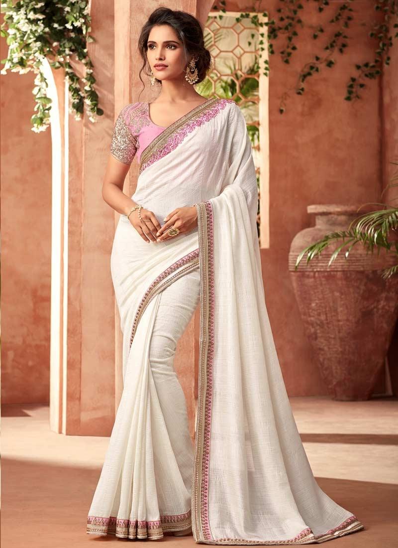 Silk Georgette Traditional Saree