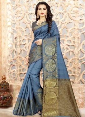 Linen Classic Saree For Ceremonial