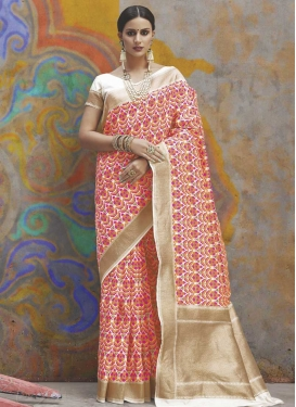 Handloom Silk Designer Contemporary Saree