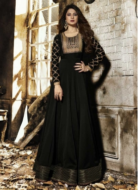Jennifer Winget Long Length Anarkali Salwar Suit For Ceremonial