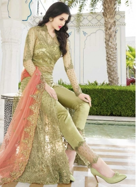 Pant Style Classic Salwar Suit For Party