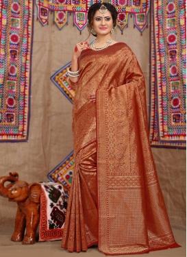 Brocade Designer Traditional Saree