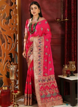 Silk Designer Contemporary Saree