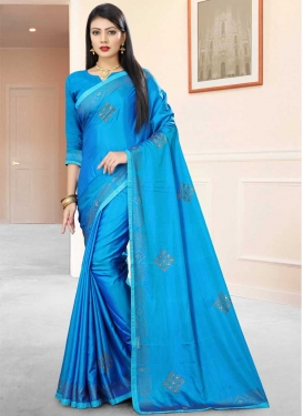Satin Silk Classic Saree For Ceremonial