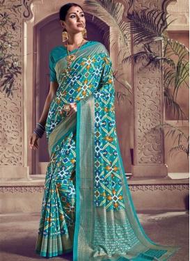 Kanjivaram Silk Trendy Saree For Ceremonial