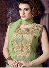 Compelling Embroidery Work Readymade Anarkali Salwar Kameez - 1