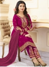 Ayesha Takia Faux Georgette Pant Style Designer Salwar Suit - 1