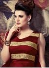 Vehemently Uppada Silk Ankle Length Readymade Designer Salwar Suit - 1