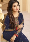 Ayesha Takia Faux Georgette Pant Style Straight Salwar Suit - 2