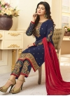 Ayesha Takia Faux Georgette Pant Style Straight Salwar Suit - 1
