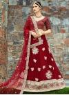 Trendy A Line Lehenga Choli For Ceremonial - 1