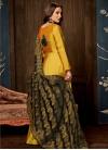 Tafeta Silk Readymade Classic Gown - 2