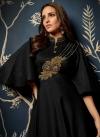 Tafeta Silk Readymade Long Length Gown - 1