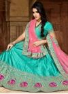 Art Silk Embroidered Work Trendy Lehenga Choli - 1