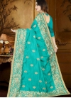 Embroidered Work Trendy Classic Saree - 2