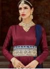Tafeta Silk Long Length Salwar Kameez - 1