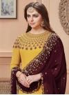 Faux Georgette Long Length Pakistani Salwar Suit For Festival - 1