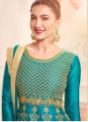 Gauhar Khan Silk Anarkali Salwar Suit - 1