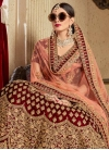 Trendy A Line Lehenga Choli For Bridal - 2