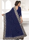 Embroidered Work Classic Saree - 2