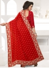 Embroidered Work Trendy Saree For Festival - 2