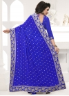 Faux Georgette Traditional Saree - 2