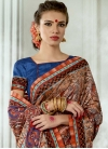 Print Work Traditional Saree For Ceremonial - 1