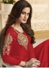 Cutdana Work Banglori Silk Trendy Anarkali Salwar Kameez - 1