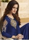 Banglori Silk Cutdana Work Long Length Designer Anarkali Suit - 1