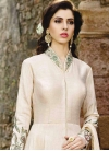 Embroidered Work Silk Trendy Salwar Kameez - 1