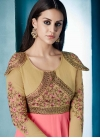 Embroidered Work Readymade Trendy Gown - 1